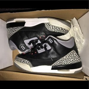 Other - Air Jordan Retro black cement 3 2011 6.5y